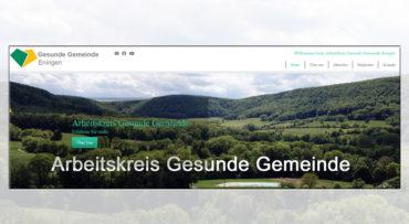 Wir sind interessiert und aktiv – Gesunde Gemeinde Eningen